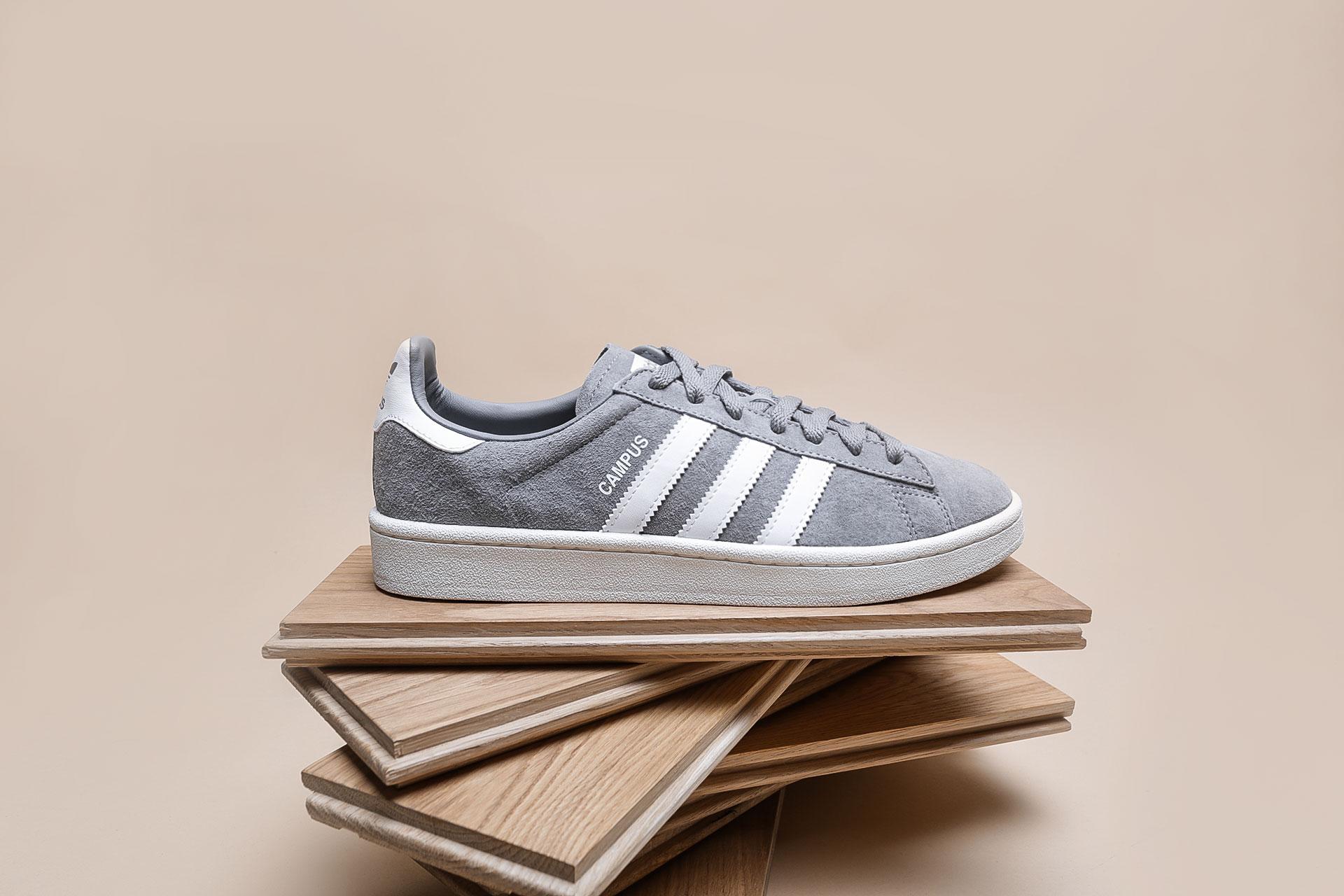 5368343b6314bc Купить серые мужские кроссовки Campus от adidas Originals (BZ0085 ...