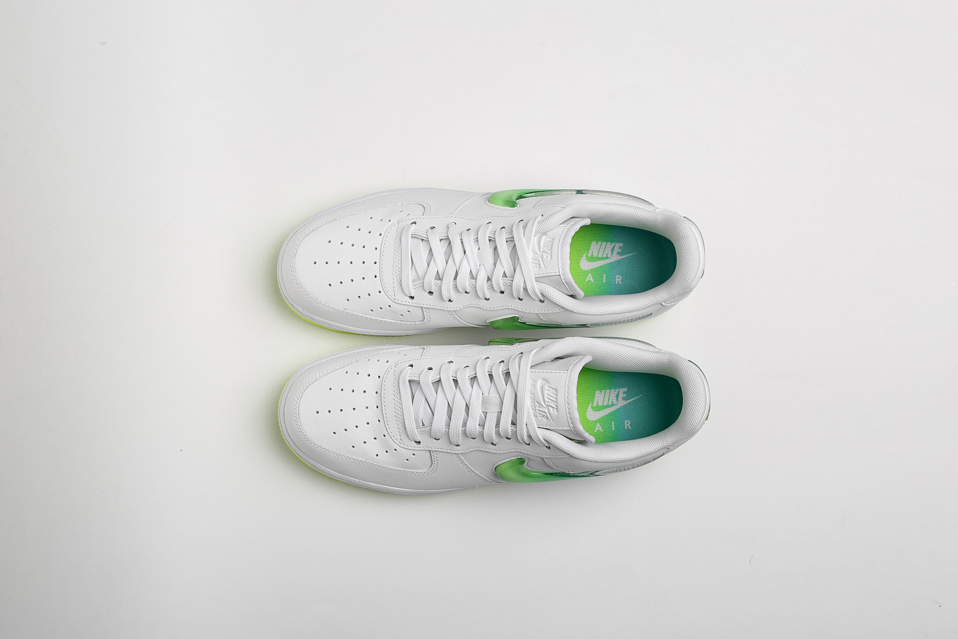 e3db5abe ... Купить мужские белые кроссовки Nike Air Force 1 '07 PRM 2 - фото 6  картинки ...