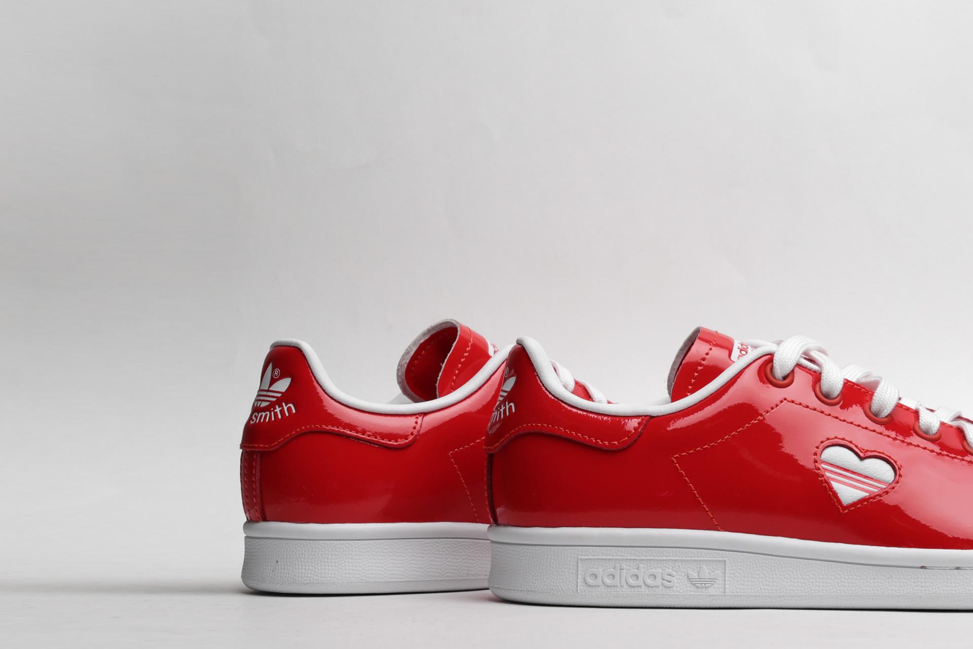 f5922070084a ... Купить женские красные кроссовки adidas Originals Stan Smith W - фото 3  картинки ...