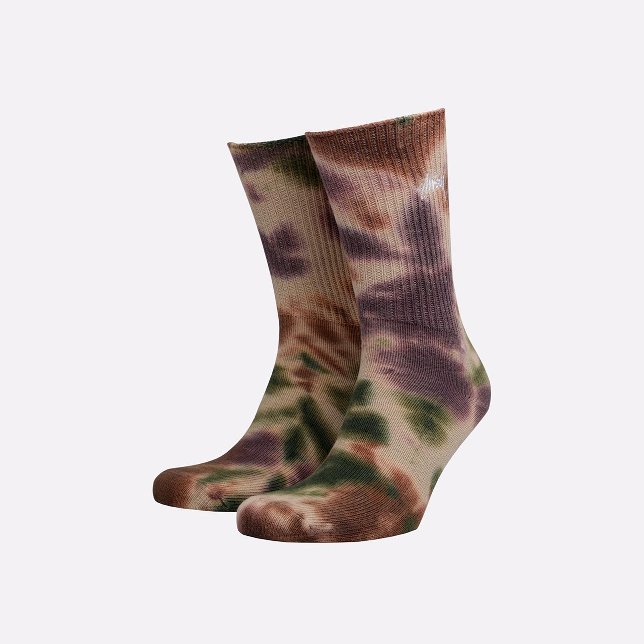 Носки Stussy Tie Dye Socks фото