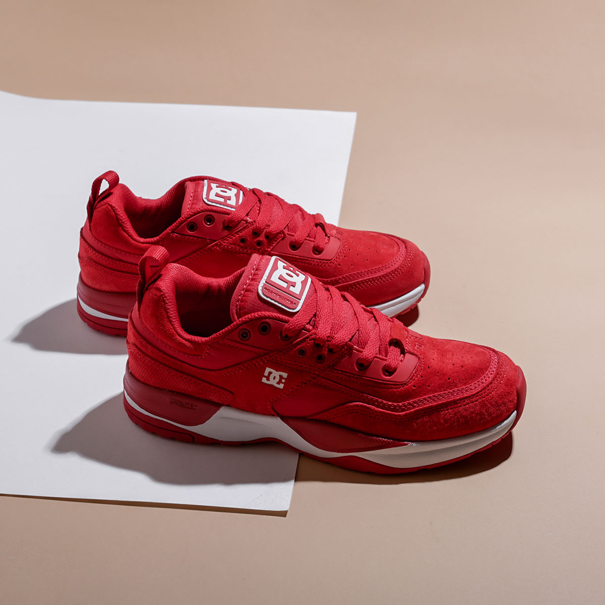 Кроссовки DC SHOES E.Tribeka ADYS700173-red