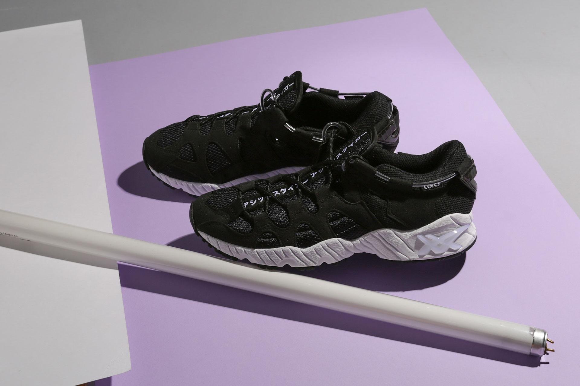 online store 2e2c9 1b810 Купить черные мужские кроссовки Gel-Mai от ASICS (1193A098 ...