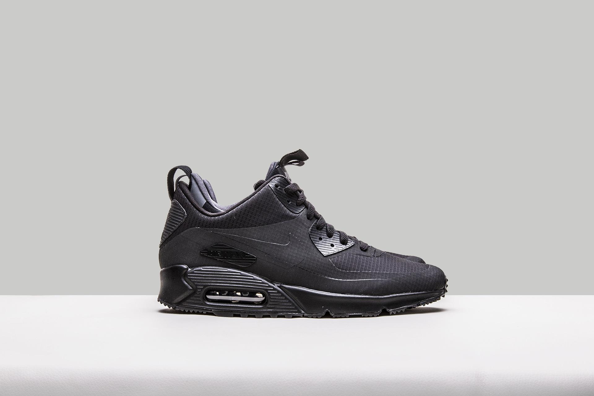 675f4adf Купить черные мужские кроссовки Air Max 90 Mid WNTR от Nike (806808 ...