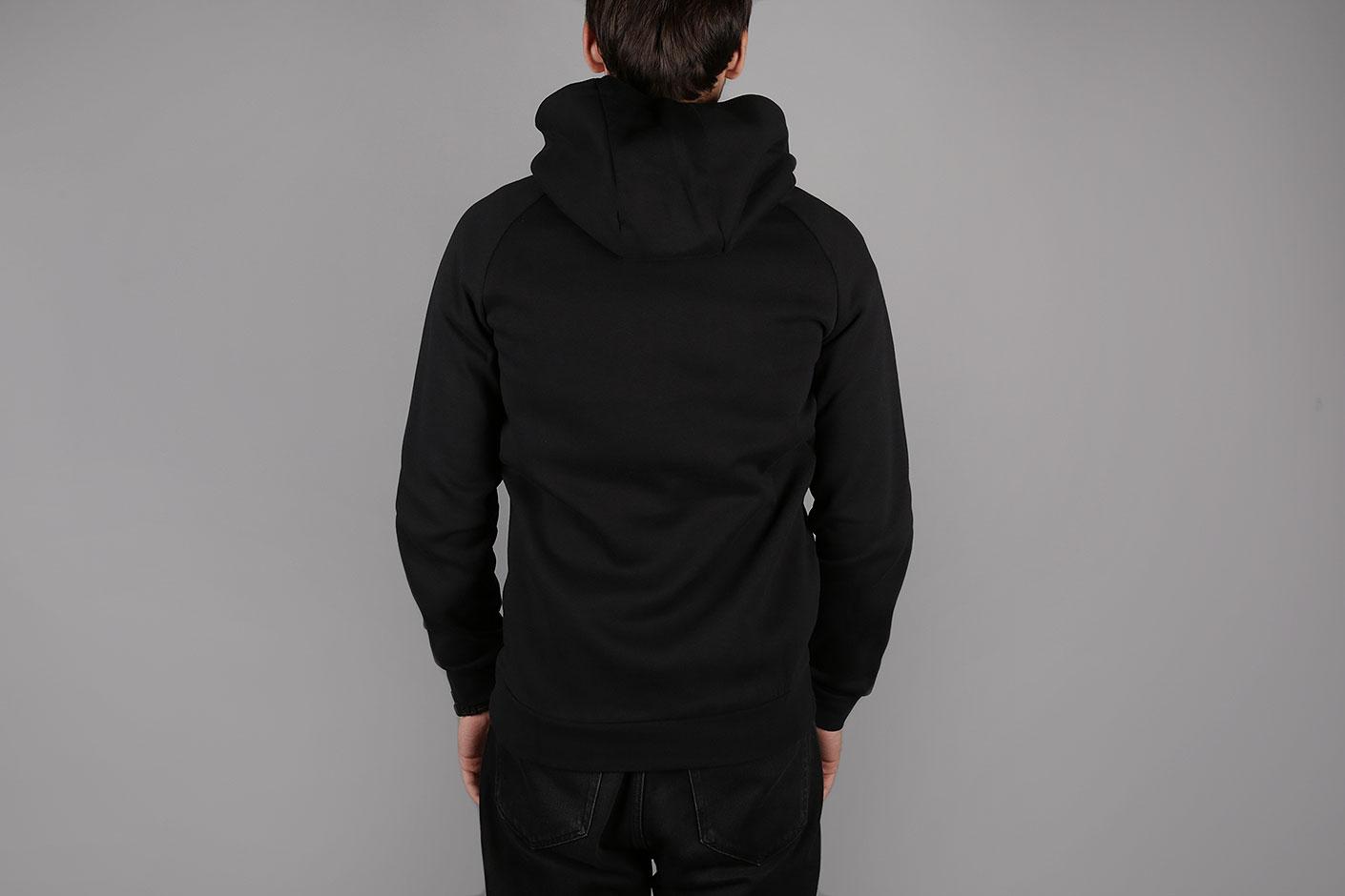 ... Мужская черная толстовка Jordan Jumpman Air Men s Fleece Full-Zip  Hoodie - фото 4 картинки 8b34754db74