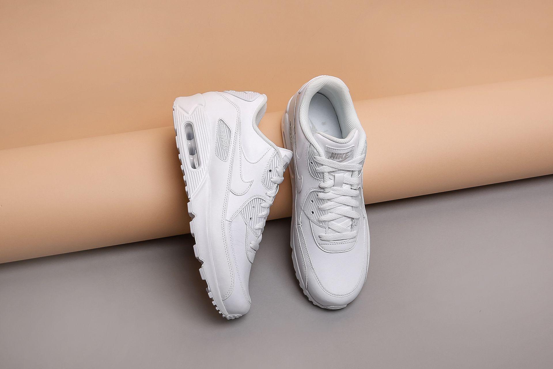 9a074991 ... Купить мужские белые кроссовки Nike Air Max 90 Leather - фото 4  картинки ...