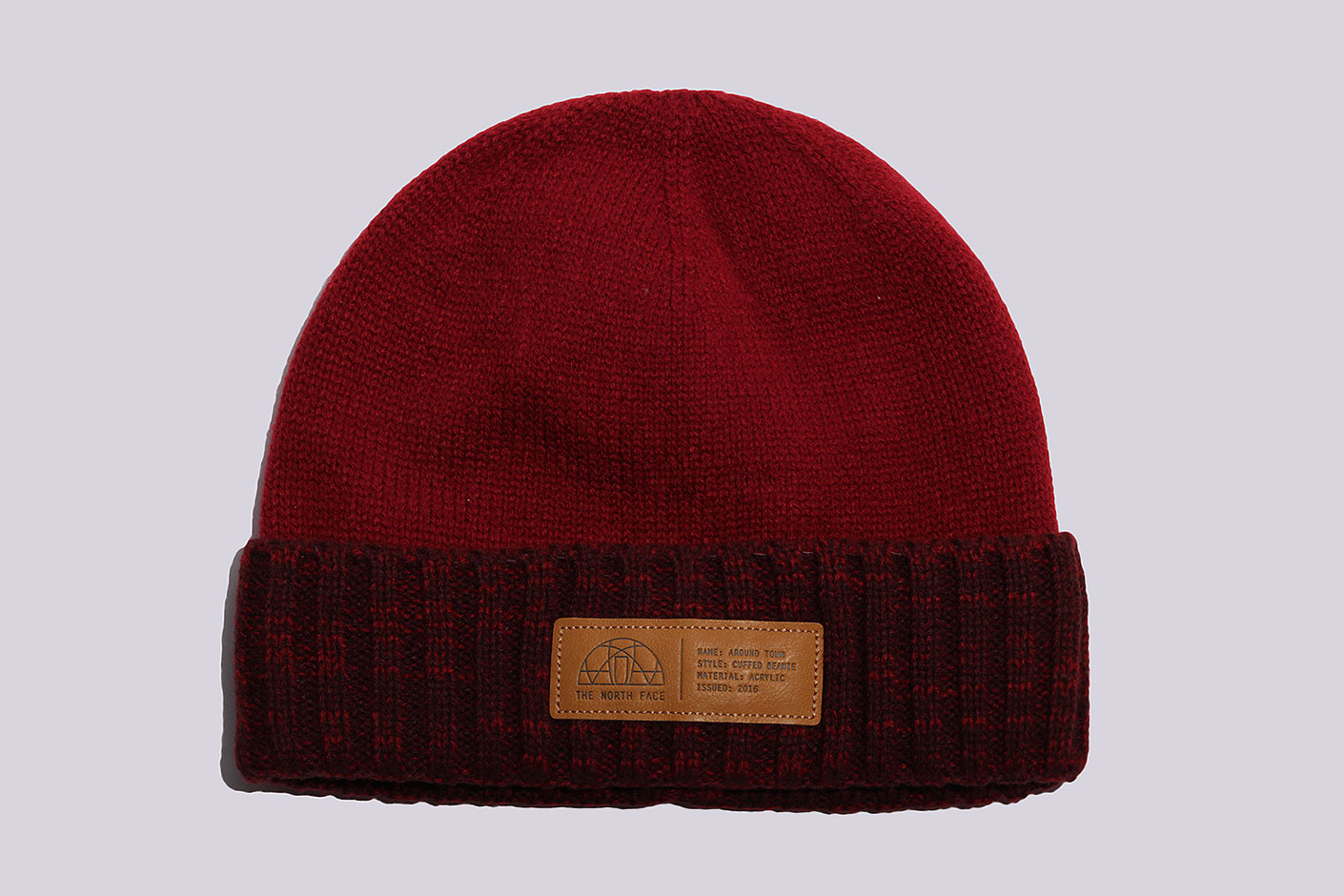 красная шапка The North Face Around Town Beanie