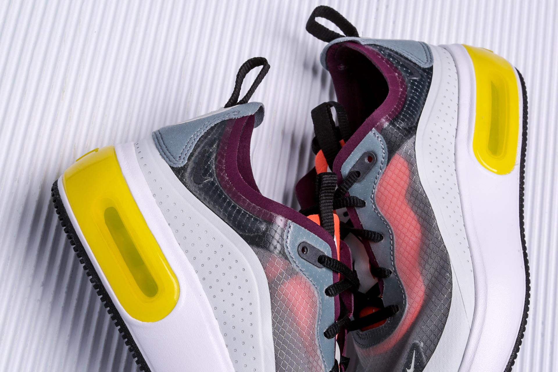 88801e4d ... Купить женские серые кроссовки Nike Air Max Dia SE QS - фото 2 картинки  ...