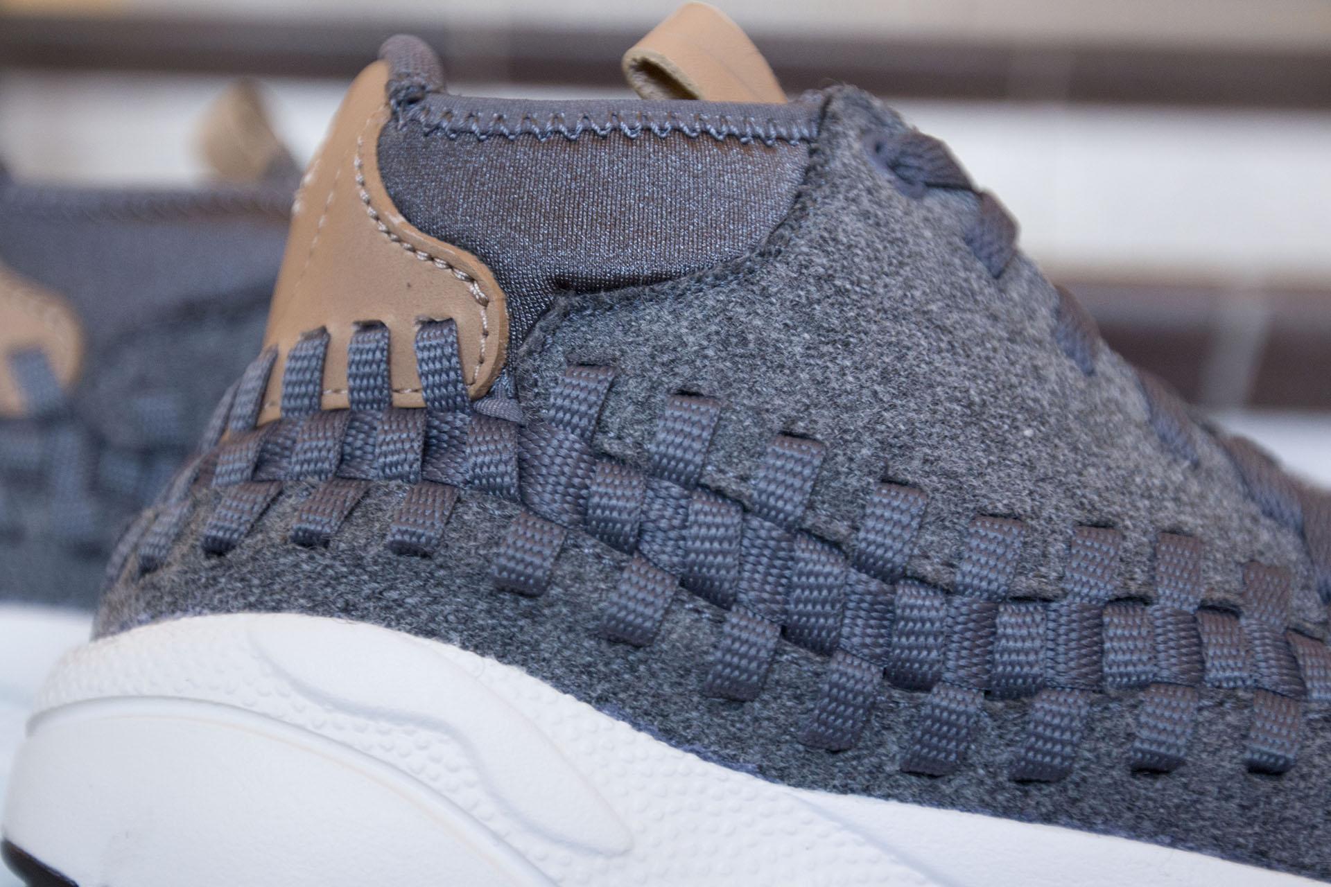 on sale deb30 35db3 ... Купить мужские серые кроссовки Nike Air Footscape Woven Chukka SE - фото  7 картинки