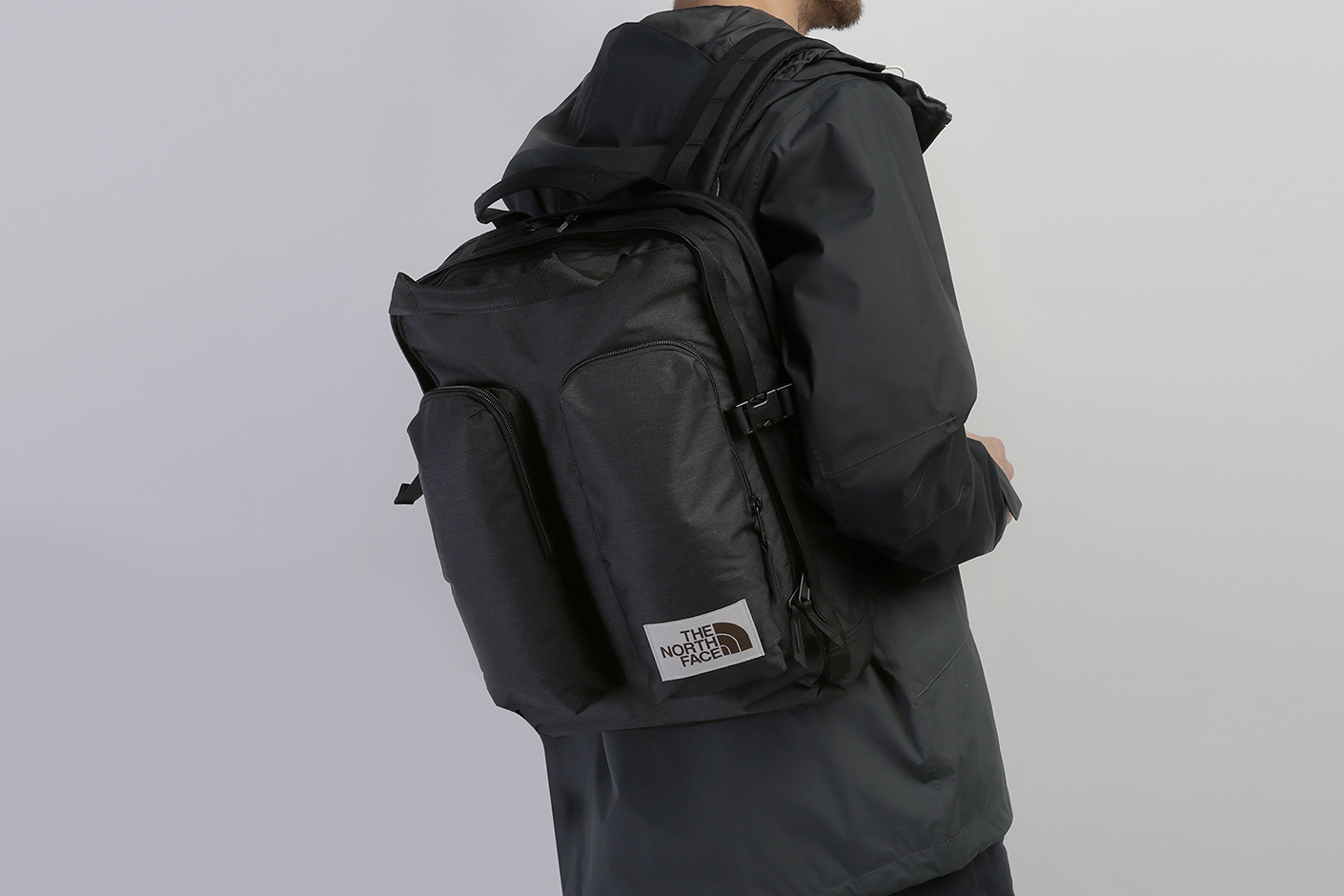 черный рюкзак The North Face Mini Crevasse 14,5L