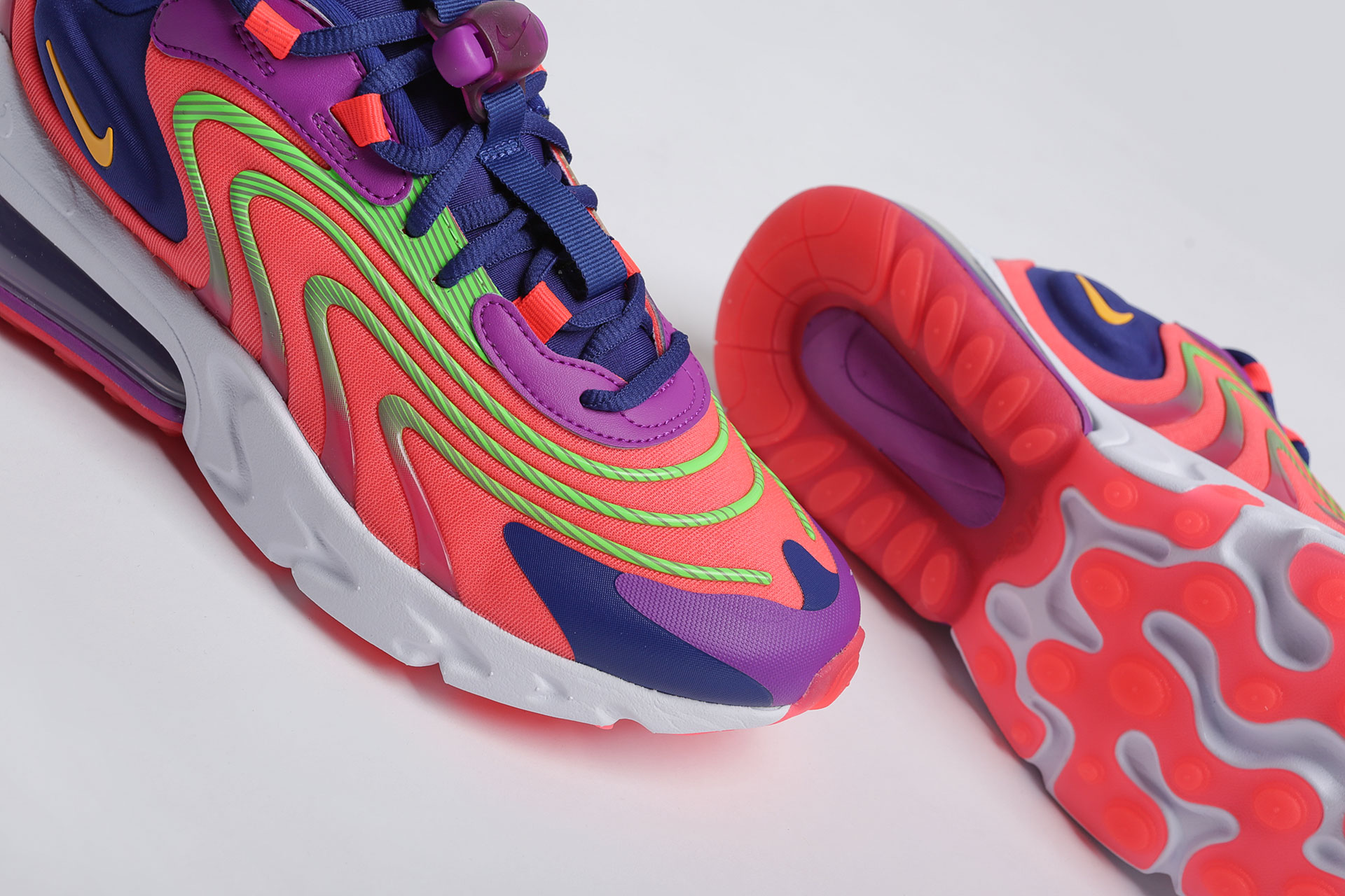 Купить разноцветные мужские кроссовки Air Max 270 React ENG