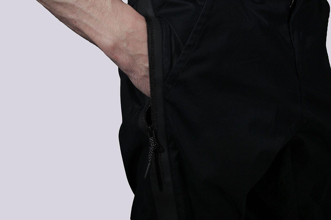 bdc6f0b80059 ... Мужские чёрные брюки Nike Bonded Jogger Pants - фото 3 картинки ...