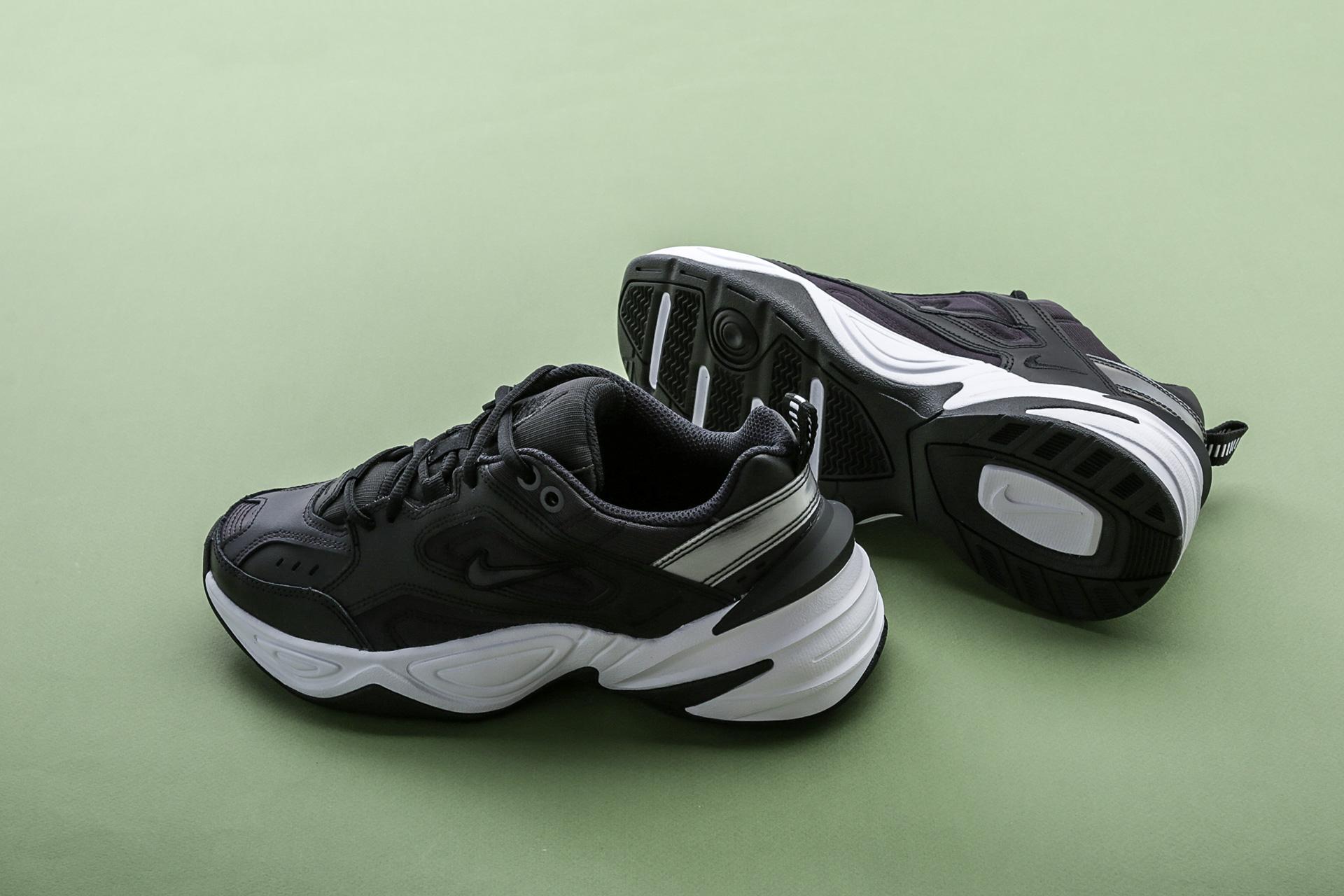 214f2d637ed53 ... Купить женские черные кроссовки Nike WMNS M2K Tekno - фото 3 картинки  ...