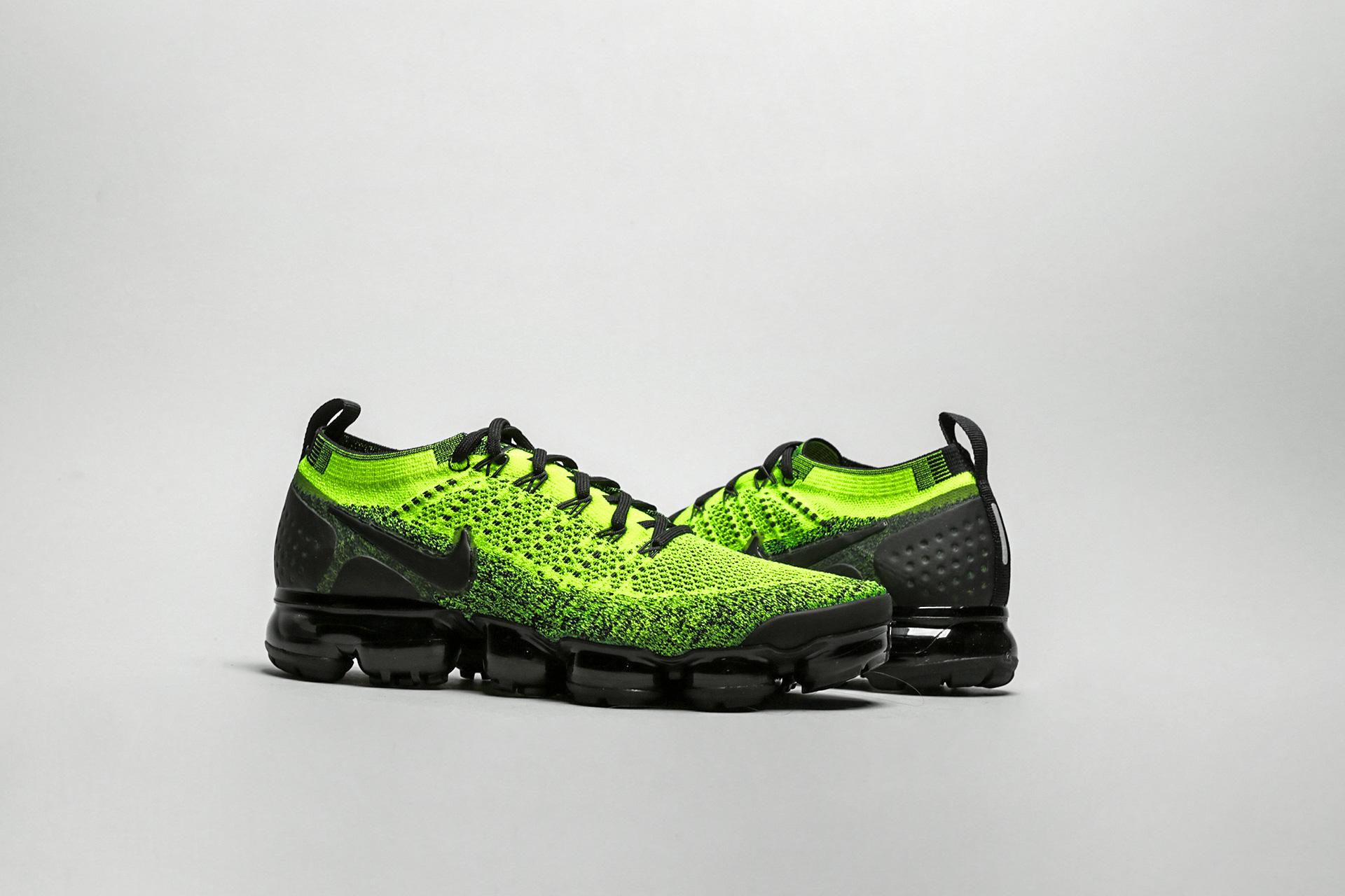 aed14086 Купить зеленые мужские кроссовки Air Vapormax Flyknit 2 от Nike ...