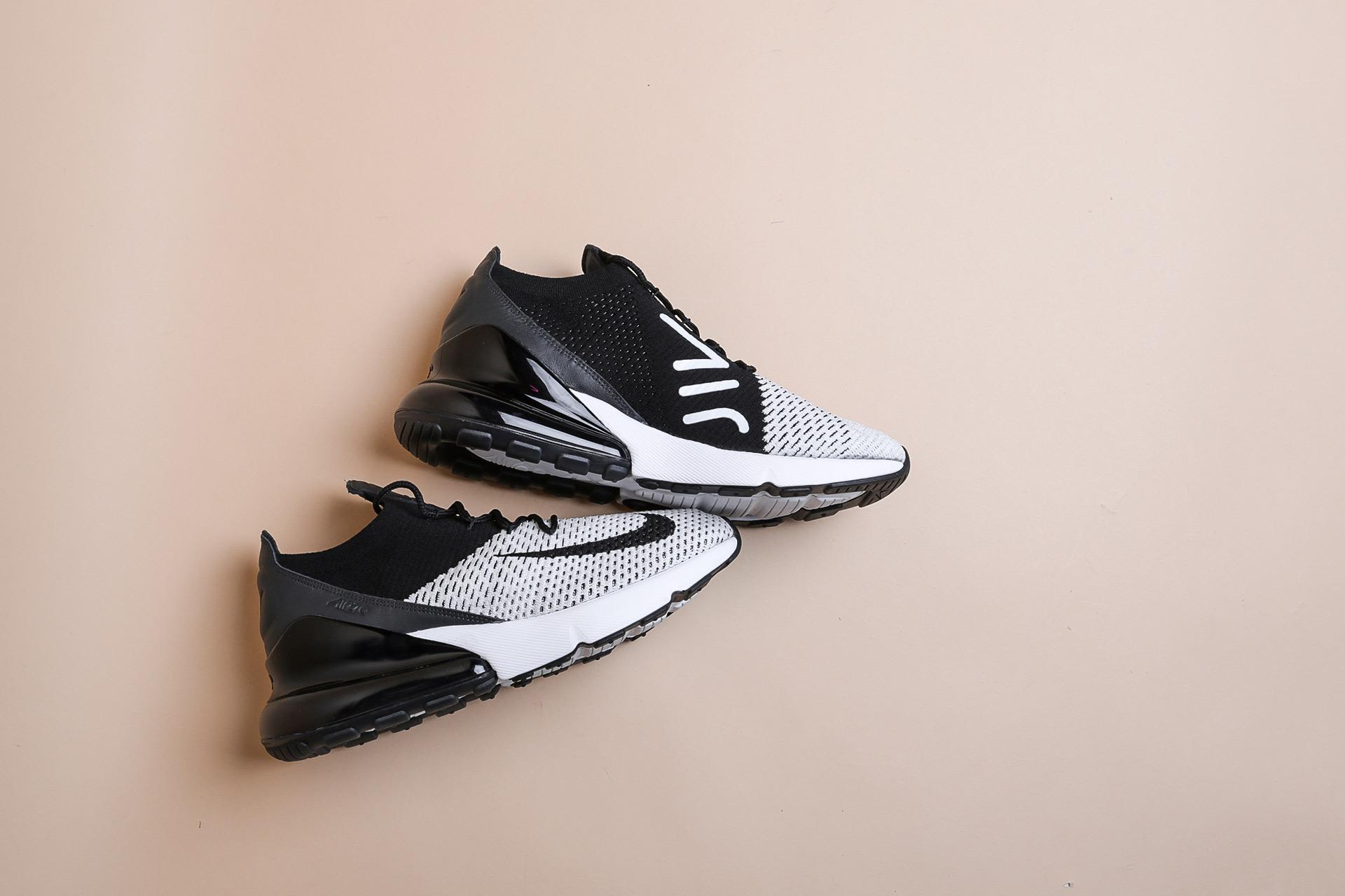 c7f37216 Купить черные мужские кроссовки Air Max 270 Flyknit от Nike (AO1023 ...