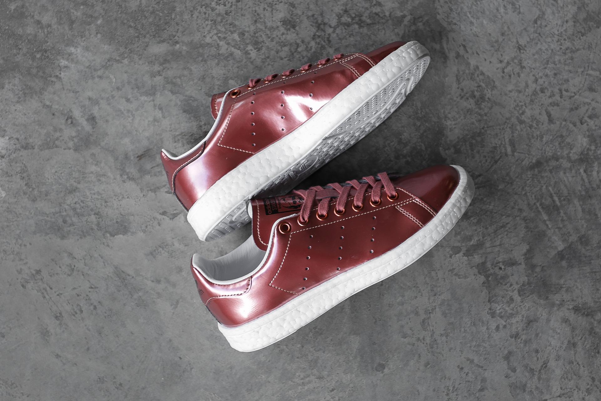 2d7cab8233c2 ... Купить женские красные кроссовки adidas Originals Stan Smith W - фото 7  картинки