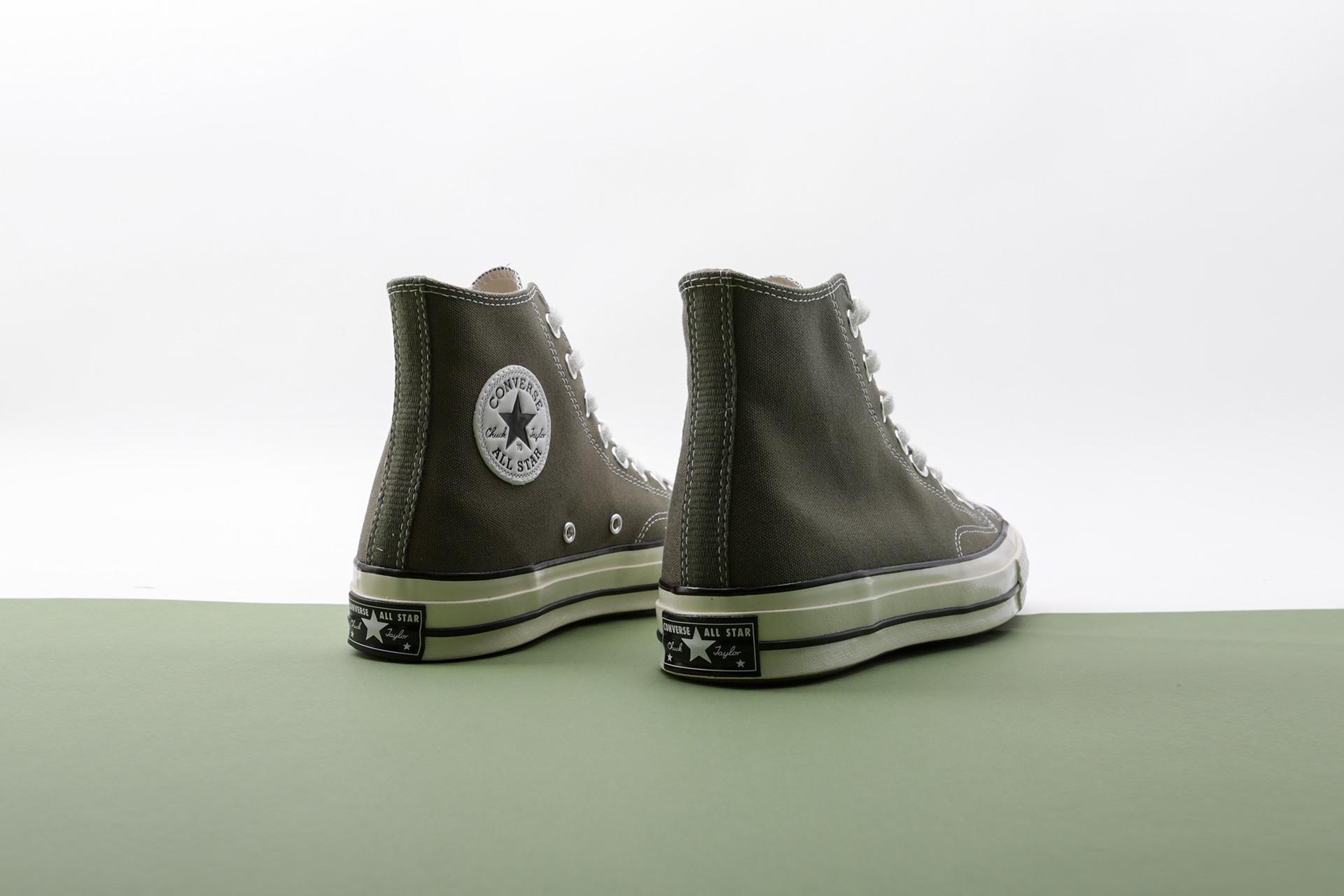 a35ebff6552730 Купить зеленые кеды Chuck 70 Hi от Converse (162052) по цене 7650 рублей