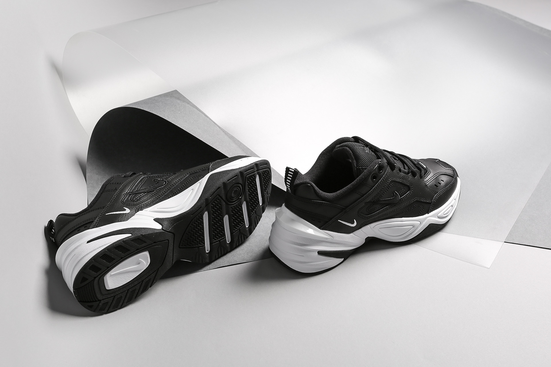 d4f2171b ... Купить женские черные кроссовки Nike WMNS M2K Tekno - фото 2 картинки  ...