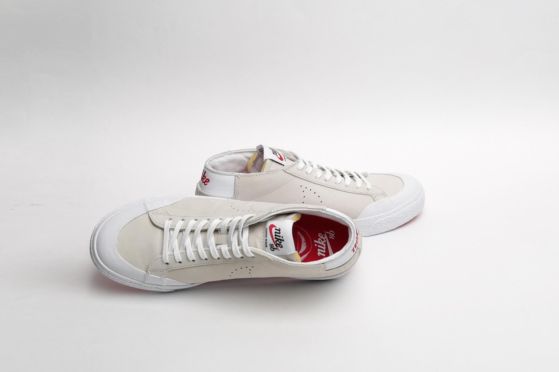 best sneakers 3bc29 236eb Купить бежевые мужские кроссовки SB Zoom Blazer Chukka XT QS ...