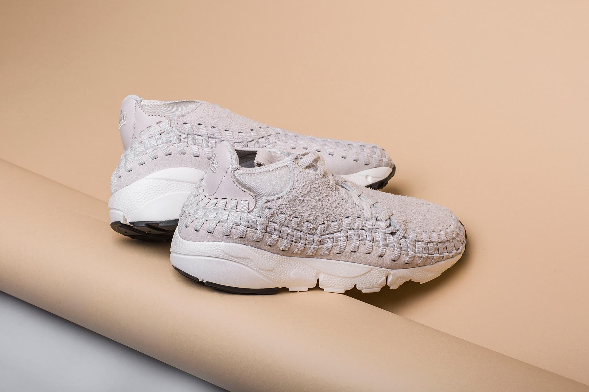 pretty nice 53cbd 2d72d ... Купить мужские бежевыые кроссовки Nike Footscape Woven Chukka QS - фото  3 картинки ...