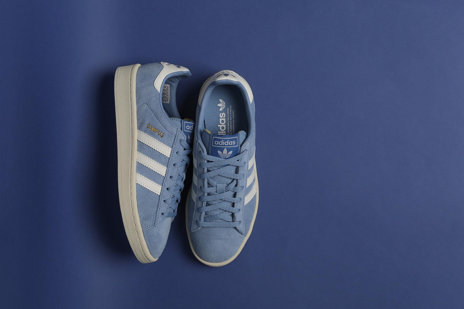 6d29629ac4accf Купить голубые женские кроссовки Campus W от adidas Originals ...