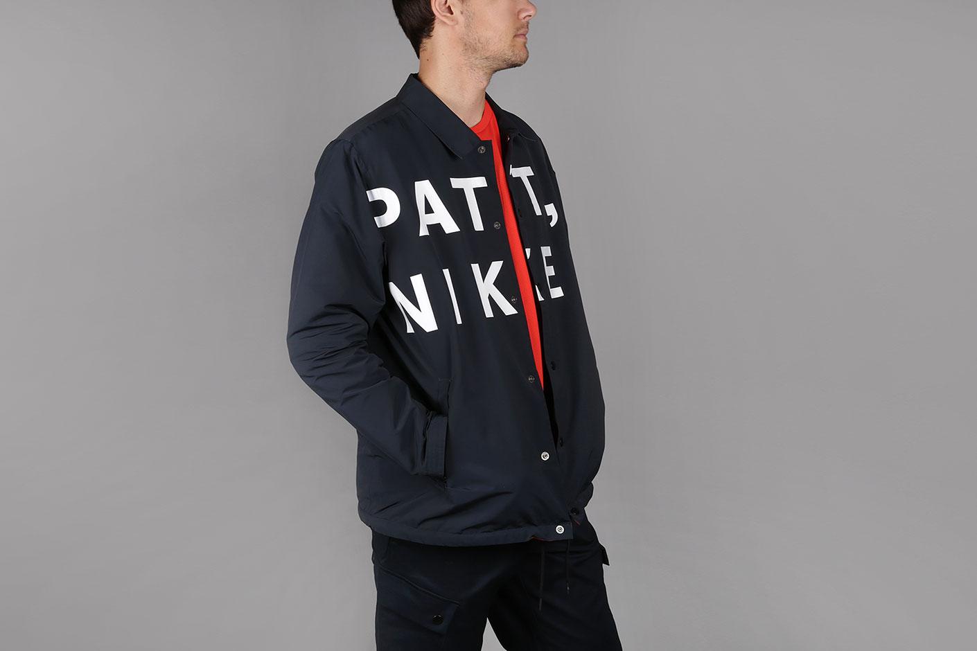 311324f9b05d Синяя мужская куртка Nike X Patta NRG Coach Jacket от Nike (AH6488 ...