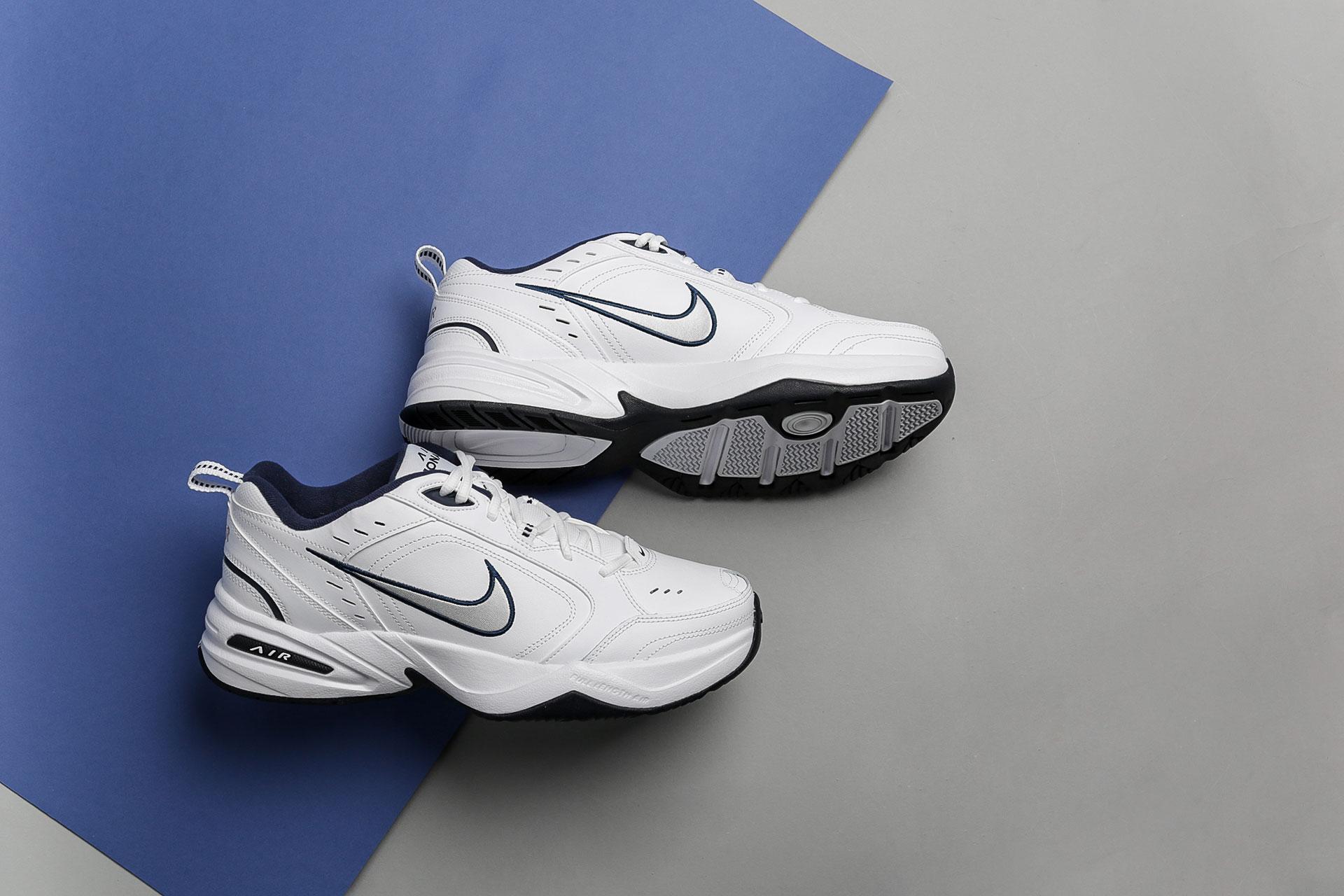 e1dcf883 Купить белые мужские кроссовки Air Monarch IV от Nike (415445-102 ...