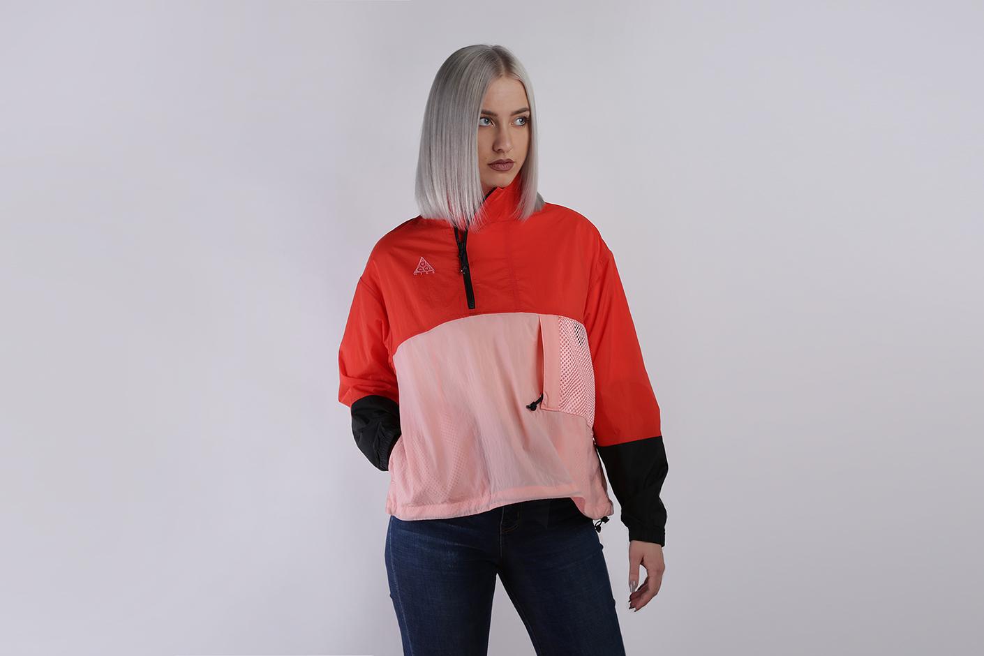 9be1158e Красный, розовая женская куртка ACG Anorak от Nike (BQ3615-634) по ...