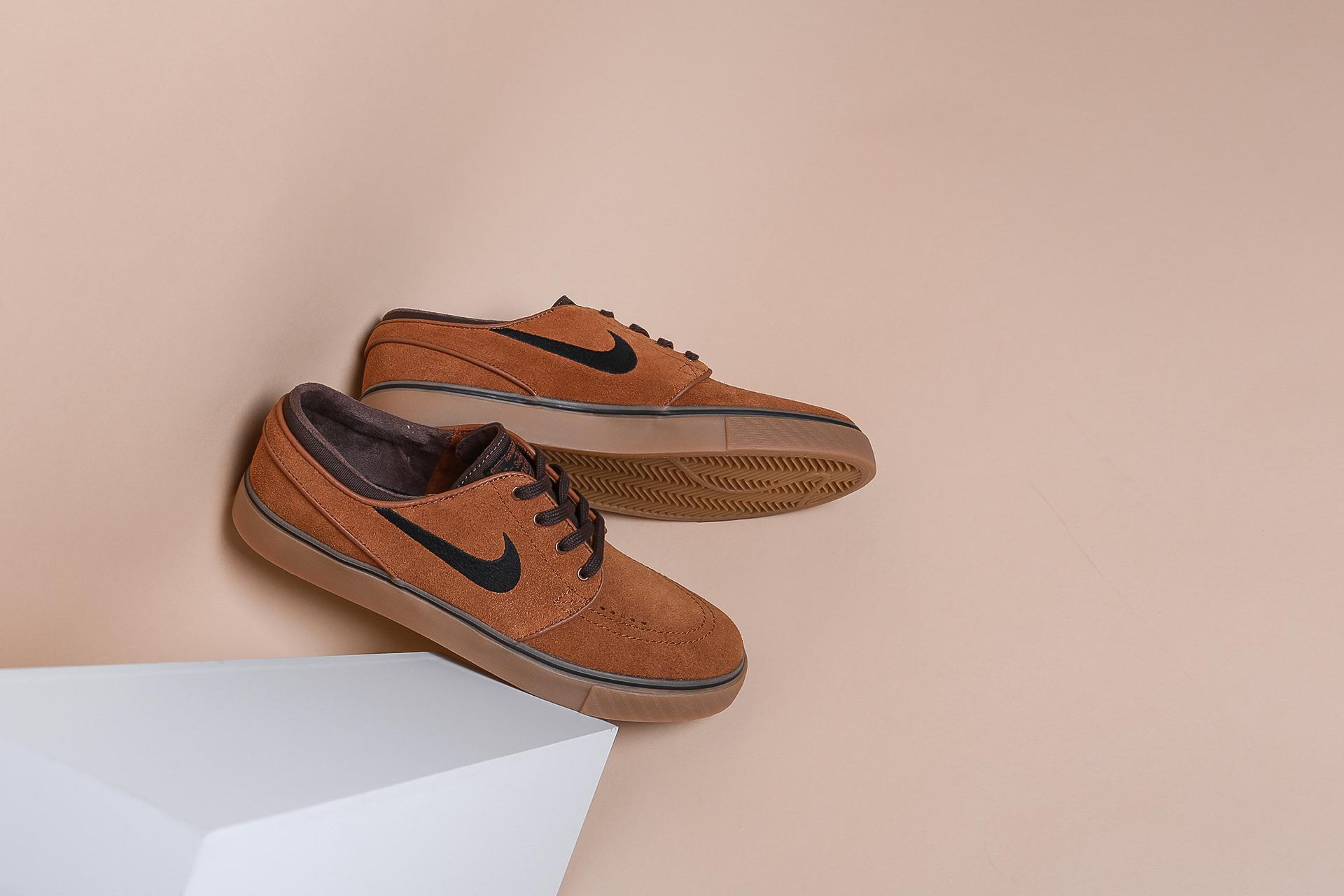 65670d9c Купить коричневые мужские кроссовки Zoom Stefan Janoski от Nike SB ...