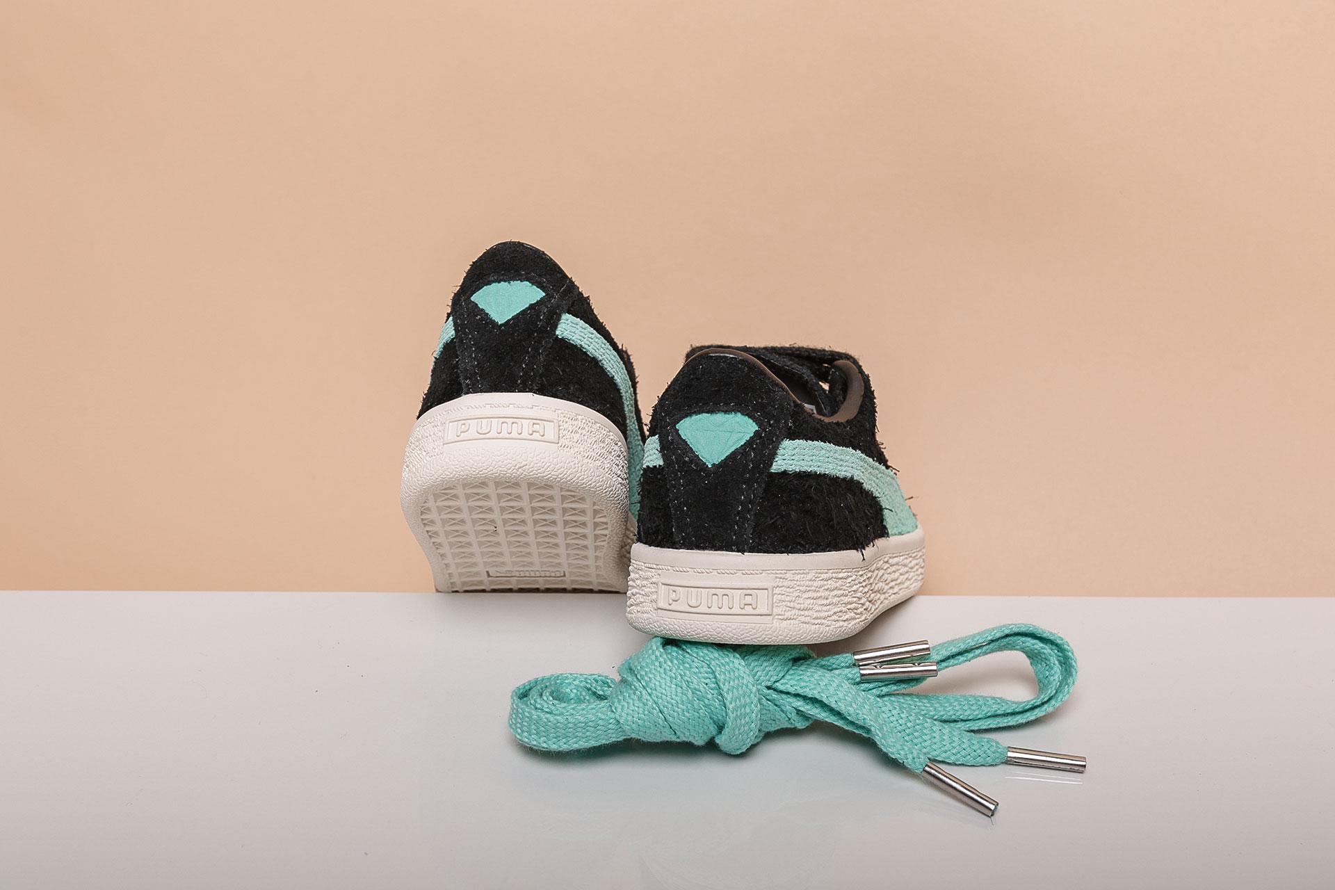 Купить черные детские кроссовки Suede Diamond PS от PUMA