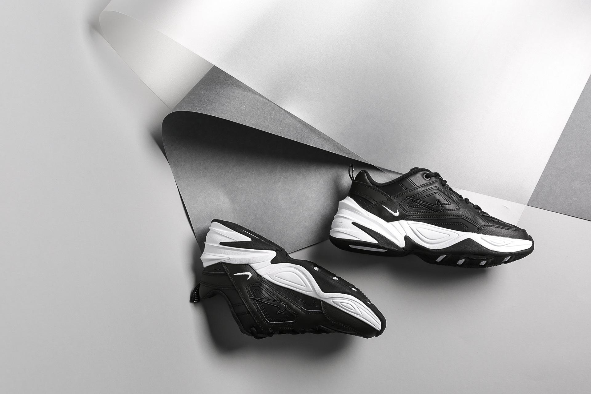 25cb4b0c ... Купить женские черные кроссовки Nike WMNS M2K Tekno - фото 5 картинки