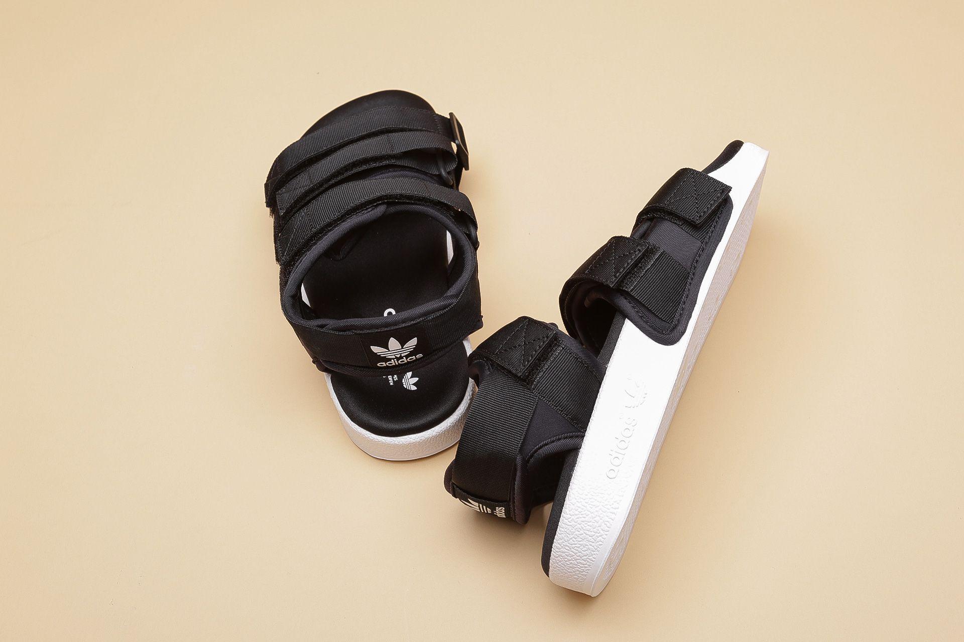 0da909318 ... Купить женские черные сандали adidas Originals Adilette Sandal W - фото  5 картинки