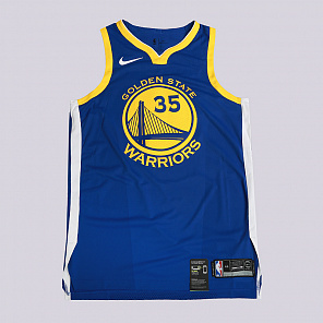 Майка Nike Kevin Durant Icon Edition Authentic Golden State Warriors NBA Connected Jersey