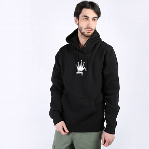 Толстовка Stussy Old Crown Hood