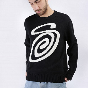 Свитер Stussy Curly S Sweater