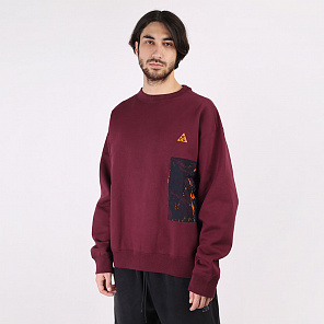 Толстовка Nike ACG All-over Print Crew Sweatshirt