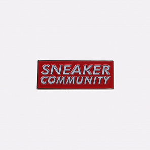 Значок PIN BAR Sneaker Community