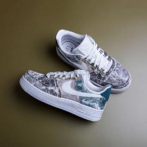 33fdaffcbcac Купить белые кроссовки Nike (Найк) 6 размера по цене от 5390 рублей ...