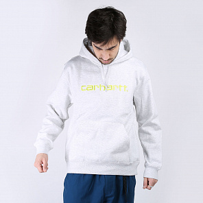 Толстовка Carhartt WIP Hooded Carhatt Sweat