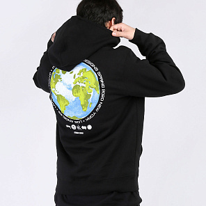 Толстовка Stussy GLOBAL DESIGN CORP. HOODY