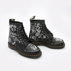 Ботинки Dr.martens Scribble Backhand