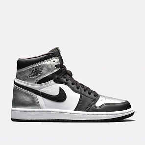 Кроссовки Jordan WMNS 1 Retro High OG Silver Toe