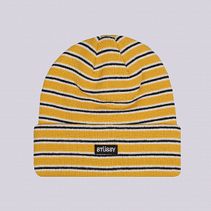 Шапка Stussy Striped FA18 Cuff Beanie